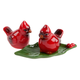 Cardinal Salt & Pepper Shakers, One Size