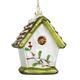 Glass Birdhouse Ornament, One Size