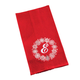 Monogrammed Snowflake Wreath Kitchen Towel, One Size