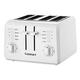 Cuisinart 4-Slice Compact Plastic White Toaster
