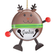 Personalized Reindeer Bell Ornament Personalized, One Size