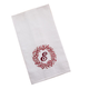 Monogrammed Berry Wreath Kitchen Towel