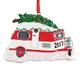 Personalized Vintage Camper Ornament, One Size