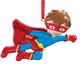 Personalized Superhero Ornament, One Size