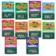 Wheel of Fortune Puzzle Books Set of 10, One Size