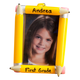 Personalized School Frame Ornament, One Size