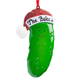 Personalized Christmas Pickle Ornament
