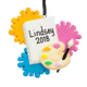 Personalized Artist Ornament, One Size