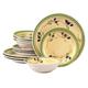 Olive Vista Stoneware 12 Piece Set, One Size