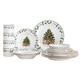 Tree Trimming Fine Ceramic Dinnerware 20 Pc Set, One Size