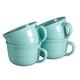 Ceramic Soup Mugs 22 oz. - Set of 4, One Size