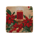 Christmas Candle Pillow Cover, One Size