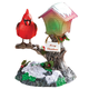 Singing Cardinal Table Top Lantern, One Size