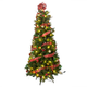 6' Fully Decorated Glitter Pine Tree by Northwoods™, One Size