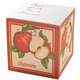 Personalized Apple Self Stick Note Cube, One Size