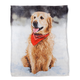 Retriever in the Snow Micro Mink Throw, One Size