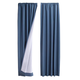 Microfiber Energy Saving Curtains, One Size