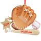 Personalized Baseball Mitt Ornament, One Size