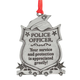 Police Officer Pewter Ornament, One Size