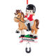 Personalized Horse Rider Ornament, One Size