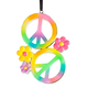 Peace Sign Ornament, One Size