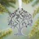 Give Thanks Pewter Ornament, One Size