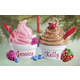 Personalized Ice Cream Sundaes Ornament, One Size