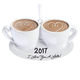 Personalized Love You a Latte Ornament, One Size