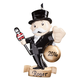 Personalized Monopoly Ornament, One Size