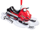 Personalized Snowmobile Ornament, One Size