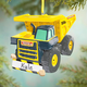 Personalized Tonka Dump Truck Ornament, One Size