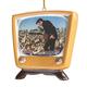 Elvis Presley™ Retro TV Ornament, One Size
