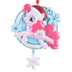 Personalized Pink Santa My Little Pony Ornament, One Size