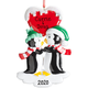 Personalized Penguin Couple Ornament, One Size