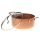Ceramic Non-Stick Stock Pot with Lid, 5 Qt, One Size