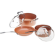 Ceramic Non-Stick Pans Set, One Size