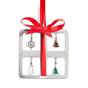 Pewter Charm Present Ornament, One Size