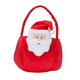 Personalized Plush Santa Basket, One Size