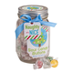 Sour Candy Buttons filled Mason Jar 8 oz., One Size