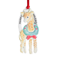 Happy Holidays Giraffe Ornament, One Size