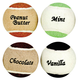 Assorted Flavored Tennis Balls, Set of 4, One Size