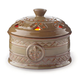 Fleur De Lis Candle Aire Fan Fragrance Warmer, One Size