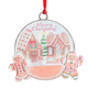Merry Christmas Gingerbread Ornament, One Size