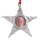 Pewter You Are My Star in Heaven Frame Ornament, One Size