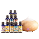 Healthful™ Naturals Premium Essential Oil Kit 280ml Diffuser, One Size