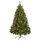 6.5' Pre-lighted Oregon Fir, One Size