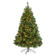 9' Pre-lighted Oregon Fir, One Size