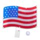 American Flag Shimmer Light, One Size