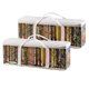 DVD Storage Case, Set of 2, One Size