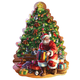 Big Shaped Christmas Tree Puzzle 500 Pieces, One Size